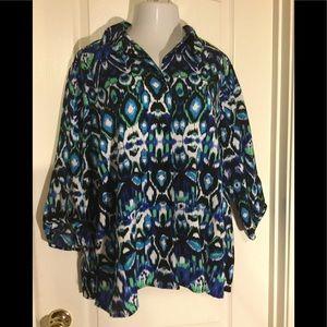 George plus size blouse 26W/28W top